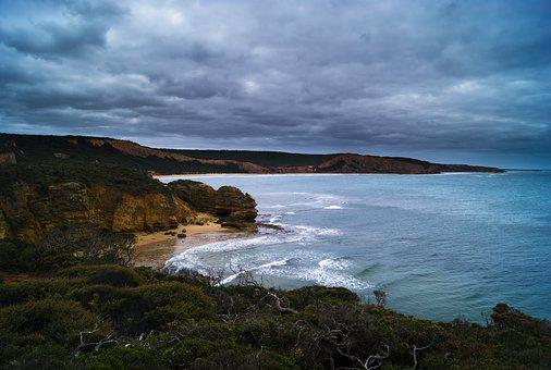 Great Ocean Road, Landmark, Sky, Clouds, Australia