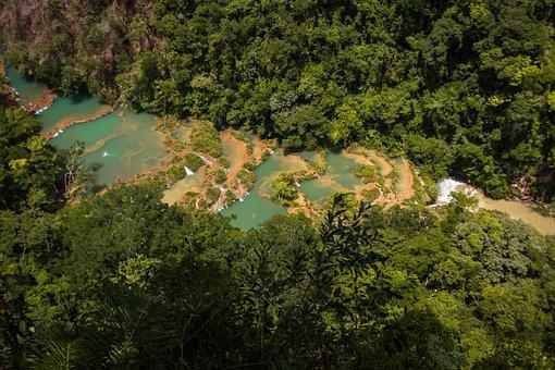 Semuc Champei, Guatemala, Coban, Landscape, Nature