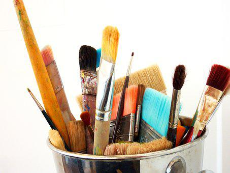 Brush, Paint, Art, Painting, Brushes, Color, Colorful