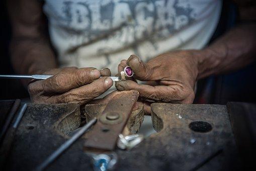 Diamond, Sri Lanka, Mine, Handmade, Hand Labor, Craft