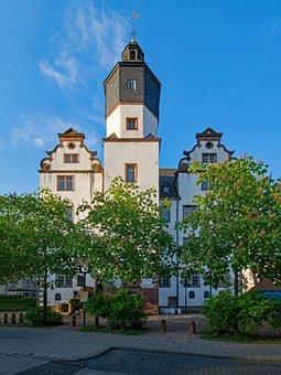 Old Teacher, Darmstadt, Hesse, Germany, School