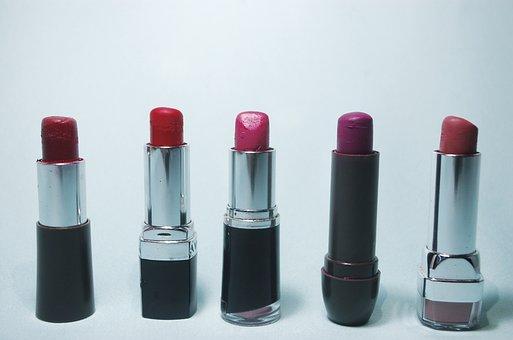 Labial, Red, Silver, Beauty, Fashion, Femininity