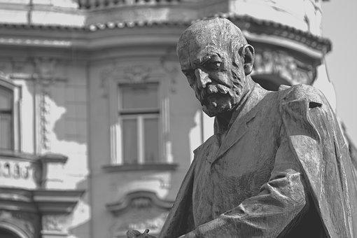 Statue, Copper, Sculpture, Artwork, Human, Figure
