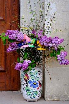 Flower Vases, Tour, Flowers, Arrangement, Deco