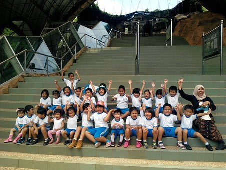 Child, Garden, School, Kids, Playground