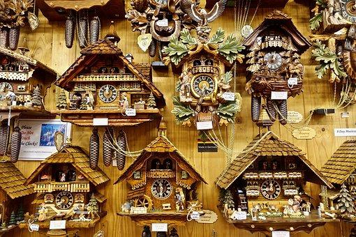Clocks, Coo Coo, Selection, Range, Precision