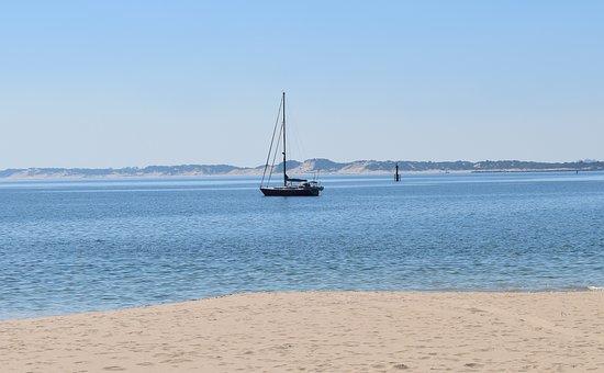 Ship, Beach, Western Australia, Ocean, Sea, Boat