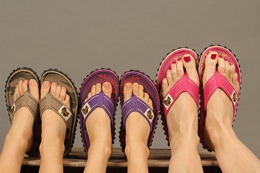 Flip Flop, Gumbies, Summer Shoes