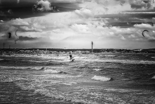 Surfer, Sea, Water Sports, Windsurfer, Wind, Water
