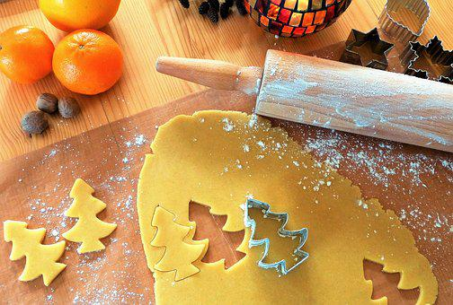 Bake, Advent, Christmas, Cookie, Cookies, Pastries