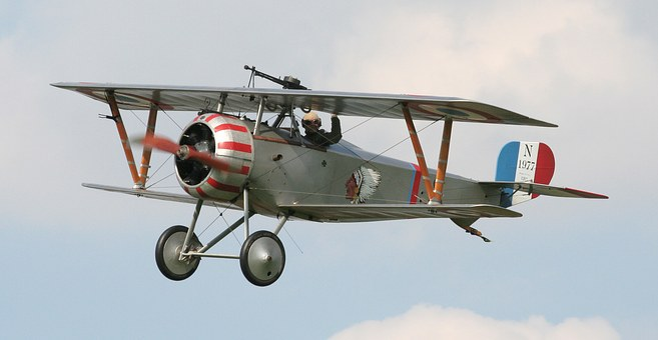 Nieuport 17, Biplane Fighter, French, World War I