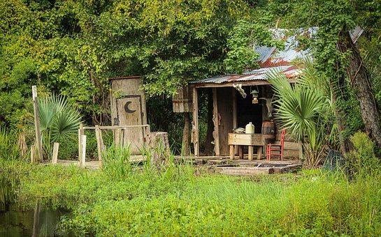 Cajun Cabin, Cajun Culture, Bayou, Bayou Cabin