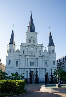 Saint Louis Cathedral, Church, Cathedral, Usa, America
