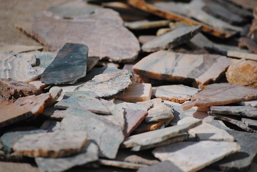 Rocks, Shards, Stone, Texture, Natural, Cracked, Nature