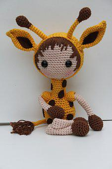 Giraffe, Crochet Giraffe, Crochet Pattern Giraffe, Hug