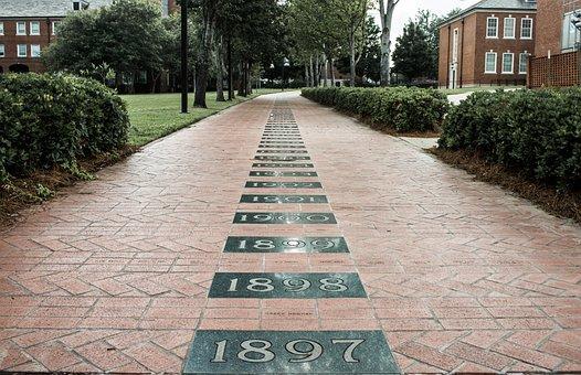 Brick, Path, Walkway, Outdoor, Neighborhood, Dwelling