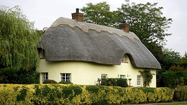 English, Cottage, House, Home, Architecture, Village