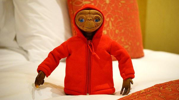 Et, Movie, Character, Extraterrestrial, Arms, Alien