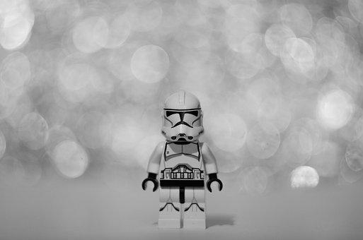 Lego, Star Wars, Stormtrooper, Toy, Plastic, Figure