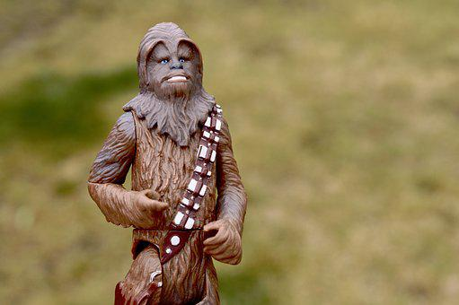 Star Wars, Chewbacca, Action Figure, Toy, Film, Movie
