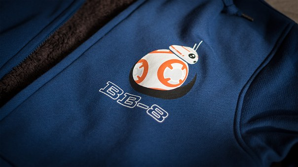 Cloths, Star Wars, Bb8, Movie, Force Awakes, Blue