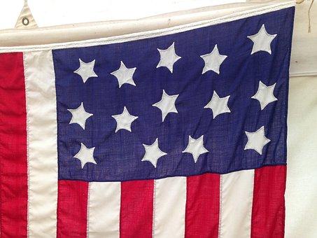 American Flag, War Of 1812, Flag, Heritage, Stars
