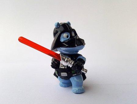 Hippo, Darth Vader, Star Wars, Science Fiction, Figure
