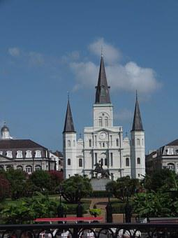Jackson Square, Louisiana, Orleans, New Orleans, French