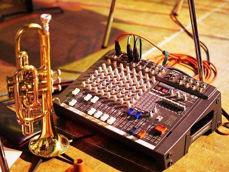 Jazz, Concert, Amplifier, Band, Sound, Stage, Music