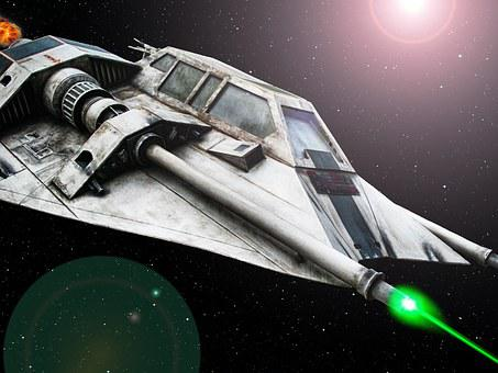 Star Wars, Space Ship, Laser, Space