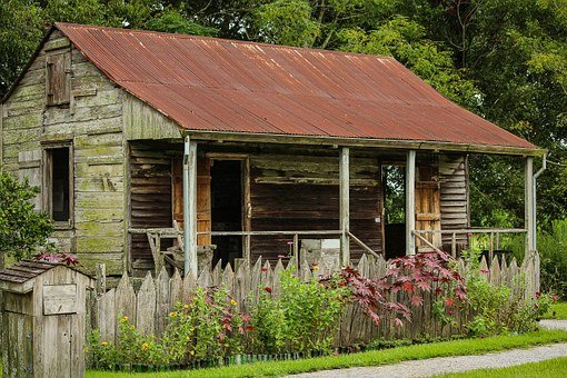 Slave Cabin, Laura Plantation, Louisiana, Slave House