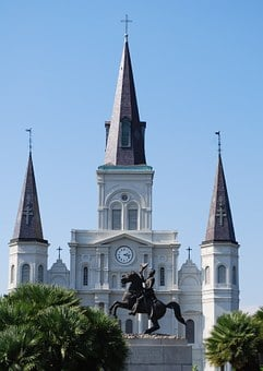 Cathedral, New Orleans, St Louis Cathedral, Louisiana