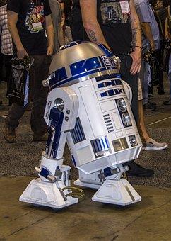 R2d2, Star Wars, Robot, Machine, Technology, Robotic