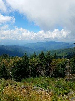 Mountain, Smokey, Landscape, National, Nature, North