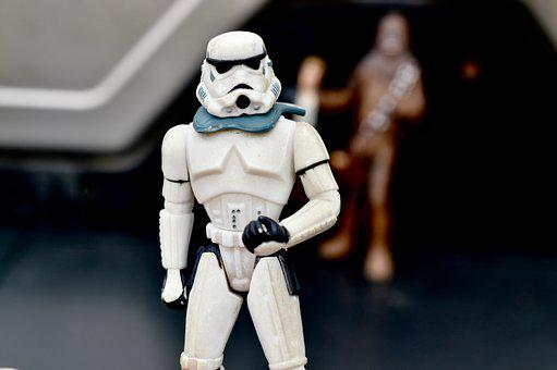 Star Wars, Storm Trooper, Action Figure, Toy, Movie