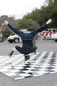 New Orleans, Jackson Square, Dancer, Street Dancer