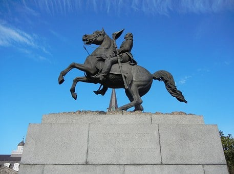 New Orleans, Jackson Square, Statue