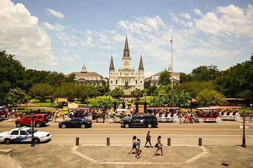 Usa, America, New Orleans, Louisiana