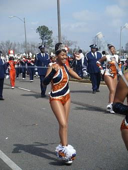 Mardi Gras, New Orleans, Marching Band