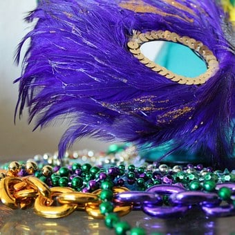 Mask, Face Mask, Mardi Gras, Colorful, New Orleans