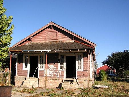 Open Doors, Hurricane Katrina, New Orleans, La