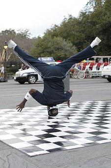 New Orleans, Jackson Square, Dancer, Street Dancer