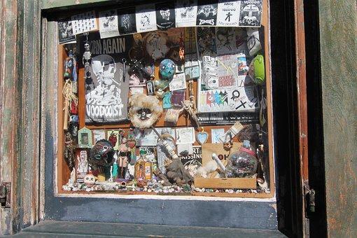 New Orleans, Nola, Voodoo, Store Window, Hoodoo, Store