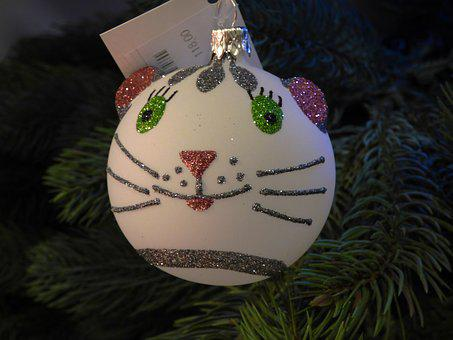 Christmas Tree, Christmas Baubles, Ornaments, Holidays