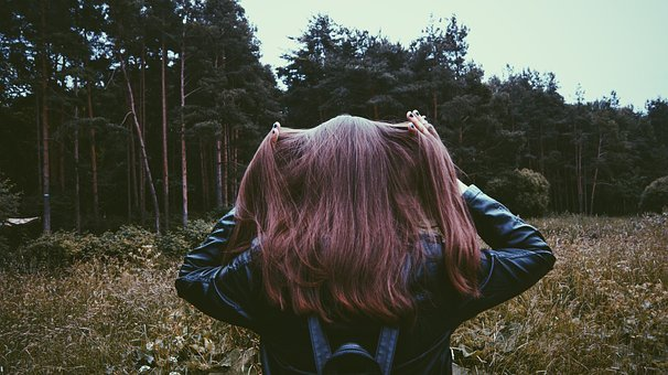 Girl, Forest, Nature, Stroll, Photoshoot, Tree