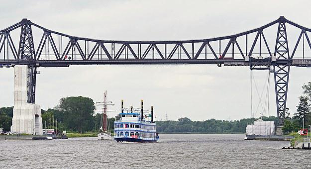 North America, Rendsburg, High Bridge