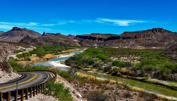 Rio Grande River, Texas, Big Bend National Park