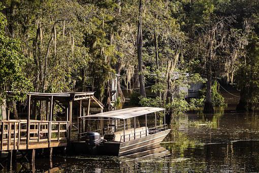 Pearl River, Louisiana, Bayou, Swamp, Riverboat