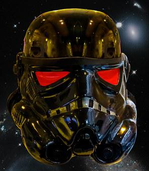Star Wars, Darth Vader, Helm, Space, Science Fiction