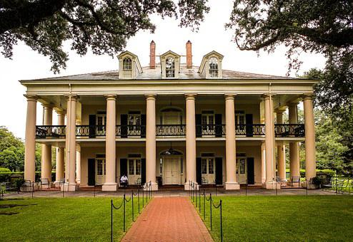 Oak Alley Plantation, Southern Plantation, Mansion